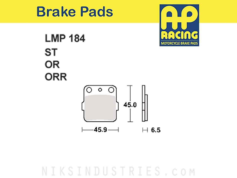 AP Racing 184ORR Brake Pads