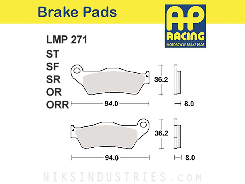 AP Racing 271ORR Brake Pads