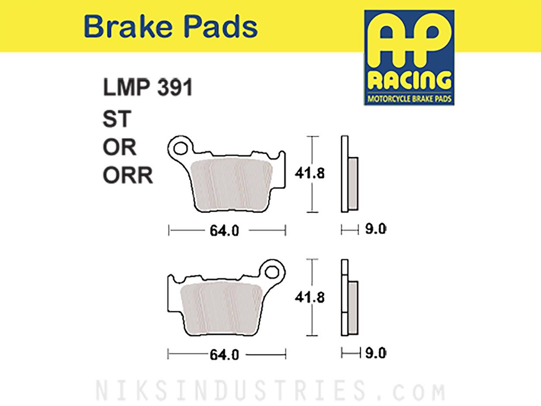 AP Racing 391ORR Brake Pads